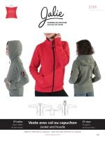 Jalie 2795 Jacket & Hoody Pattern For Girls And Women