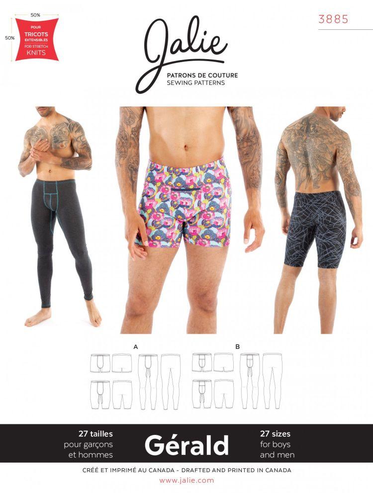Jalie 3885 Gerald Underwear for Boys & Men
