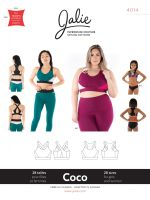 Jalie 4014 Coco Sports Bra For Girls And Women