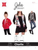 Jalie 3675 Charlie Bomber Jacket For Girls And Women