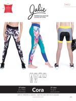 Jalie 3462 Cora Running Tights & Shorts For Girls And Women