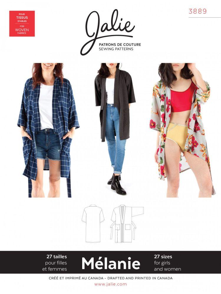 Jalie 3889 Melanie Robe For Girls and Women
