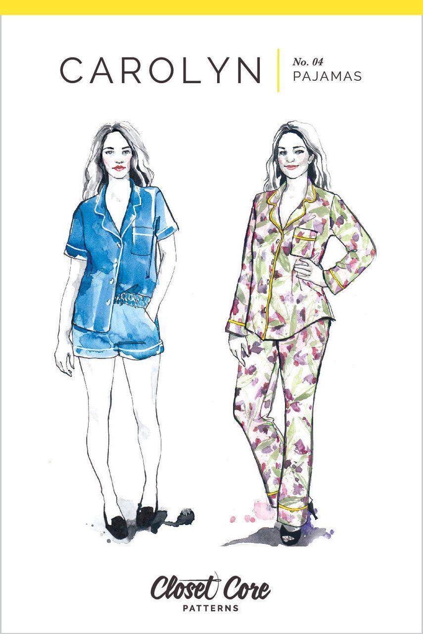 Closet Case Carolyn Pyjamas Sewing Pattern