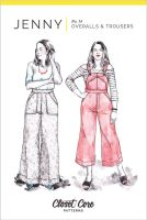 Closet Case Jenny Overalls, Trousers & Shorts Sewing Pattern