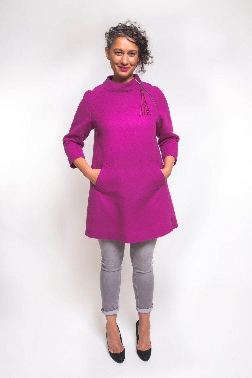 Closet Case Clara Coat Sewing Pattern