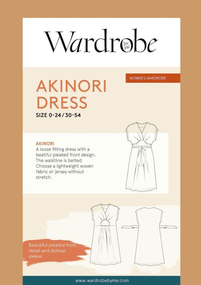 Wardrobe By Me Akinori Wrap Dress Sewing Pattern