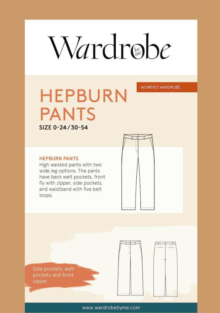 Wardrobe By Me Hepburn Flare Pants Sewing Pattern