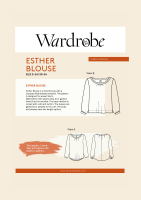 Wardrobe By Me Esther Peasant Blouse Sewing Pattern