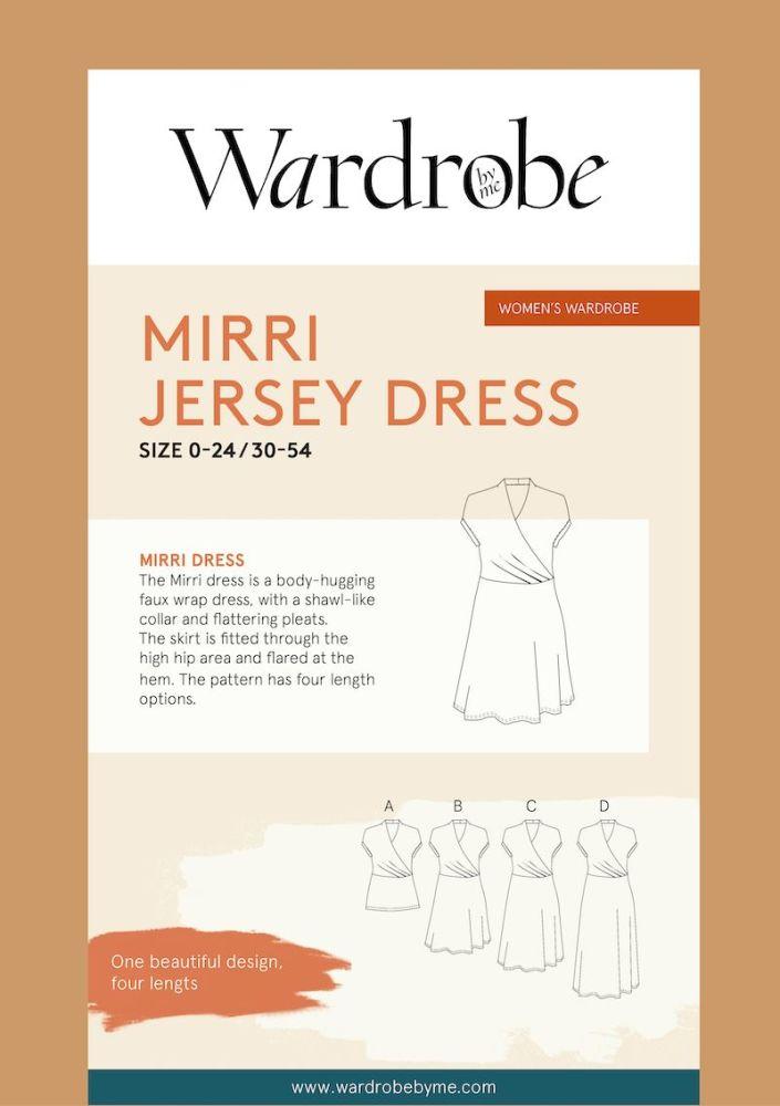Wardrobe By Me Mirri Wrap Dress Sewing Pattern