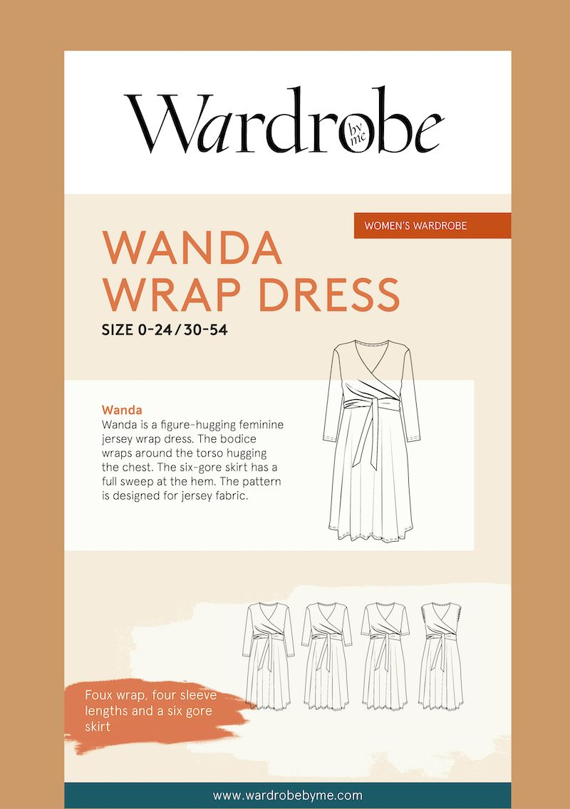 Wardrobe By Me Wanda Wrap Dress Sewing Pattern