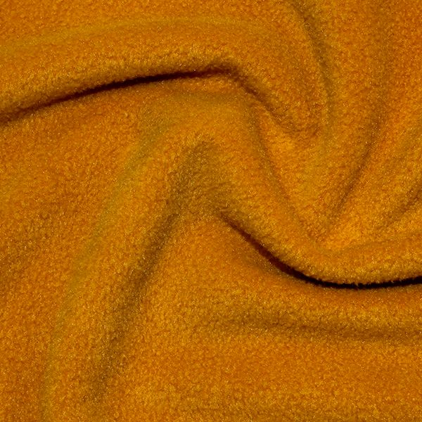 Polar Fleece Fabric Ochre