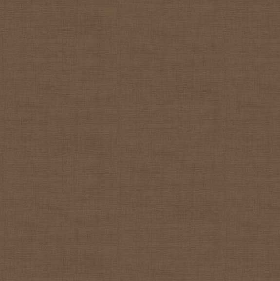 Makower Linen Texture Cotton Fabric Mocha