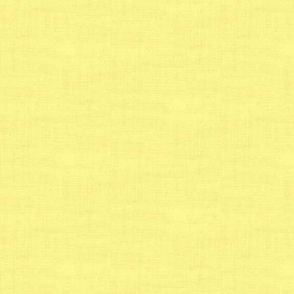 Makower Linen Texture Cotton Fabric Primrose