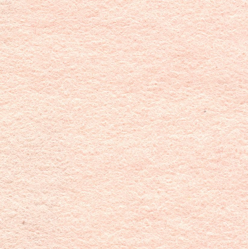 Wool Felt Mix Blush Pink