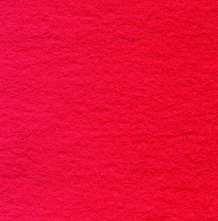 Wool Felt Mix Red