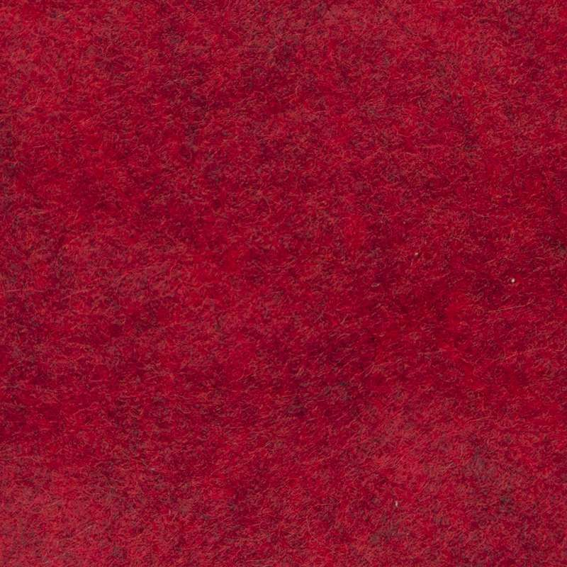 Wool Felt Mix Marl Red