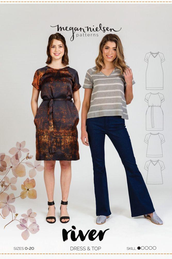 Megan Nielsen River Dress & Top Sewing Pattern