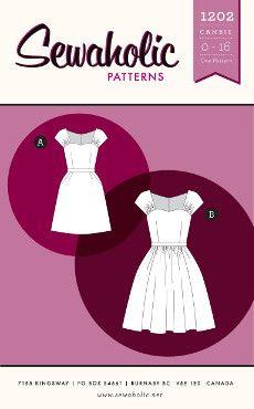 Sewaholic Sewing Pattern 1202 Cambie