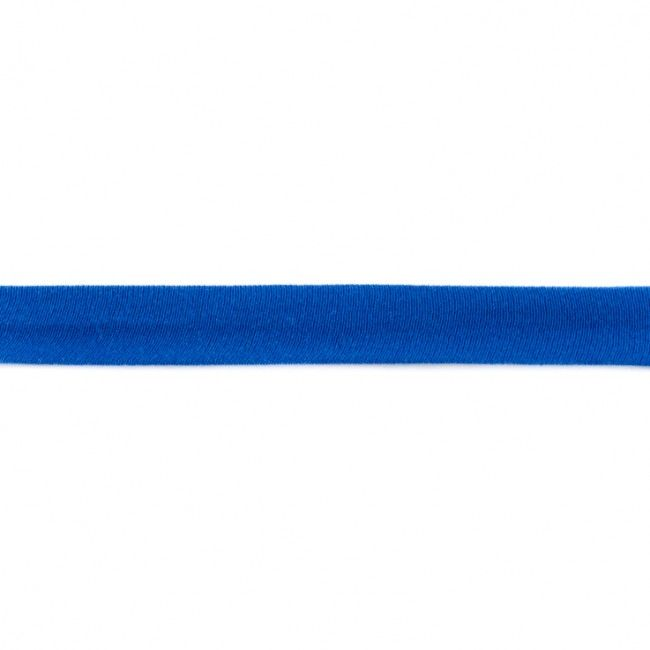 Jersey Bias Binding Cobalt Blue