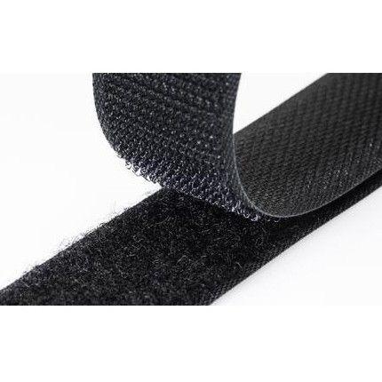 50mm Velcro Sew In Black