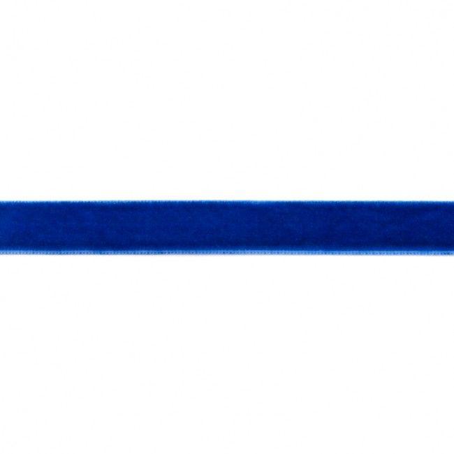 15mm Velvet Ribbon Royal Blue