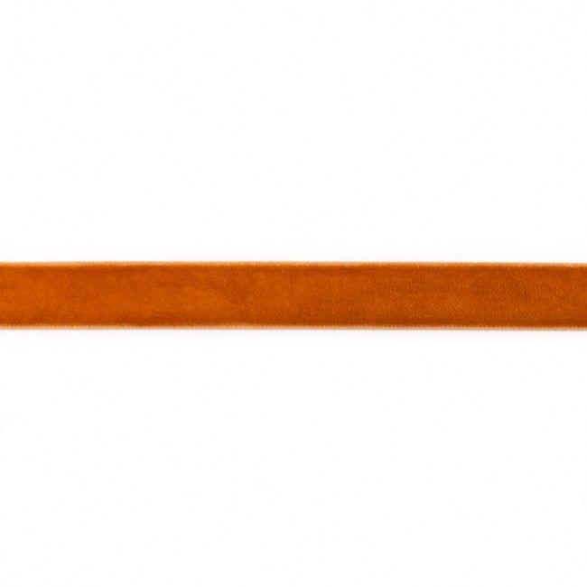 15mm Velvet Ribbon Gold