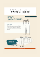 Wardrobe By Me Rebel Sweat Joggers Sewing Pattern