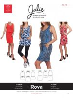 Jalie Henri 3678 Rova Dress & Tunic Sewing Pattern