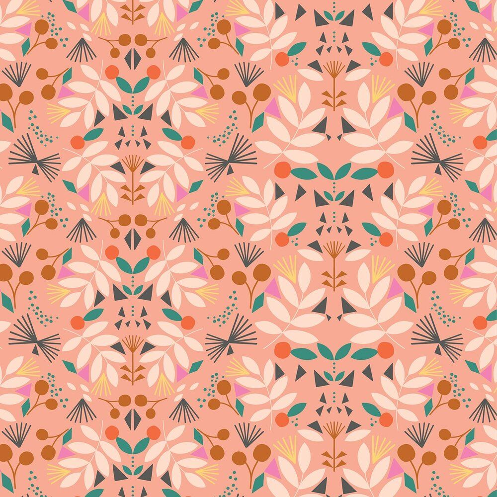 Dashwood Studio Our Planet Cotton Fabric Flowers 1736