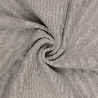 Tubular Ribbing Fabric Mid Grey