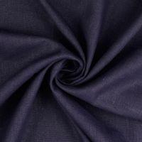 Linen Fabric Navy