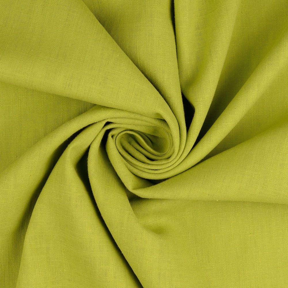 Linen Fabric Lime