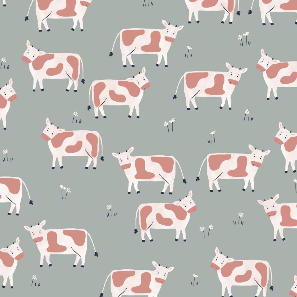 Dashwood Studio Cotton Fabric Farm Days Cows