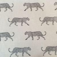 Oilcloth Fabric Leopard Panama Natural