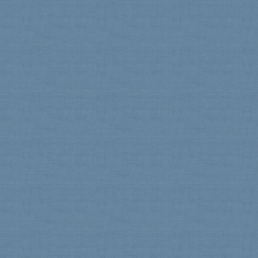 Makower Linen Texture Cotton Fabric Delft