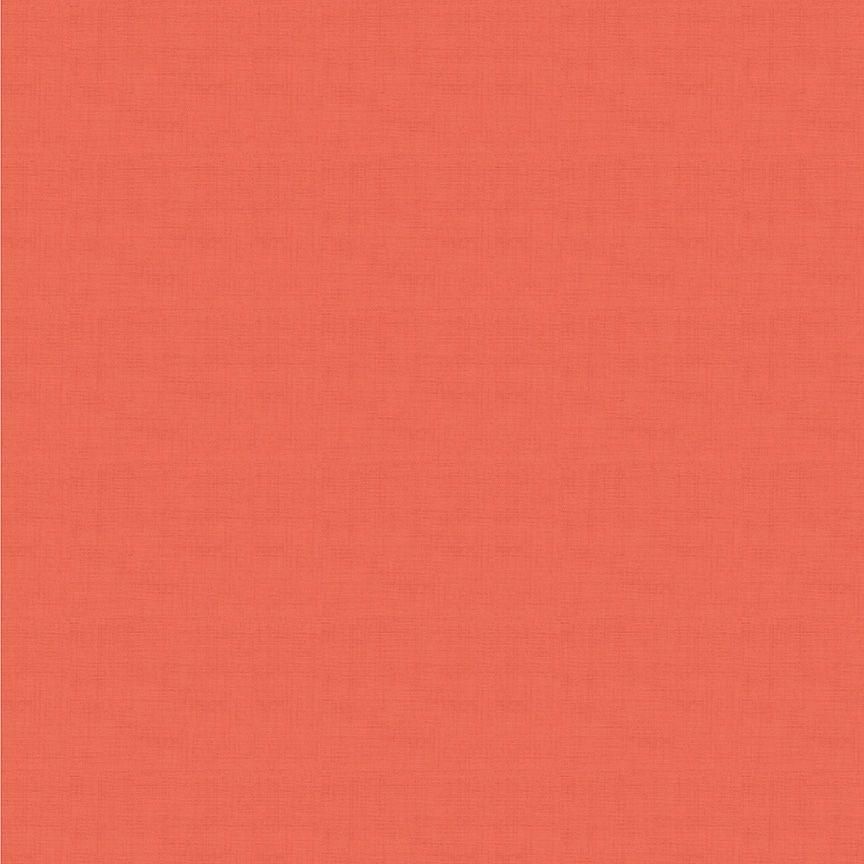 Makower Linen Texture Cotton Fabric Watermelon