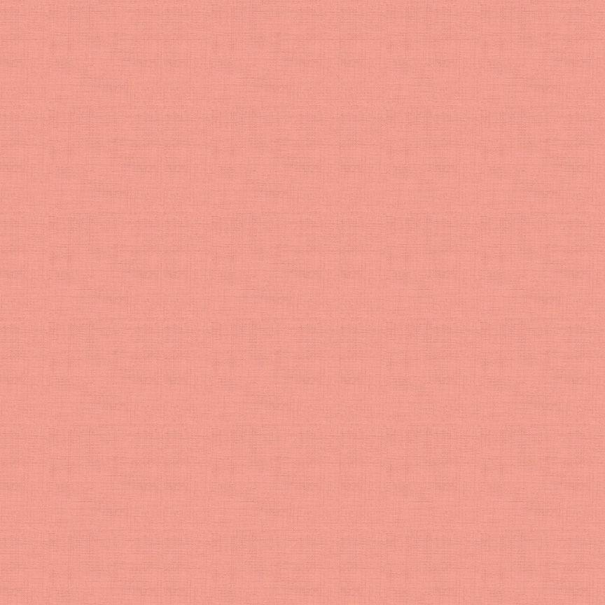 Makower Linen Texture Cotton Fabric Blossom