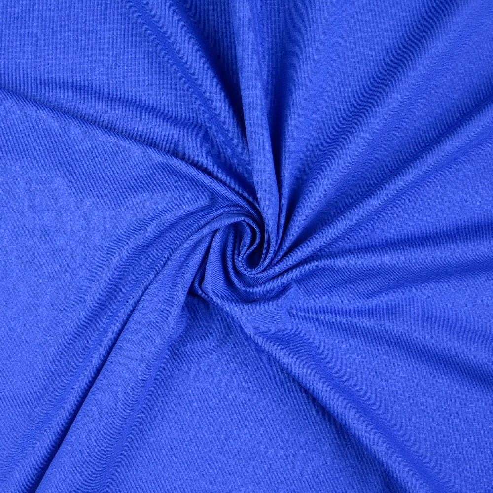 Cotton Jersey Fabric Royal Blue