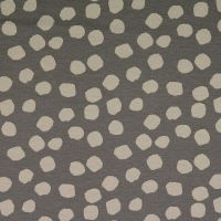 Viscose Jersey Fabric Spots Grey