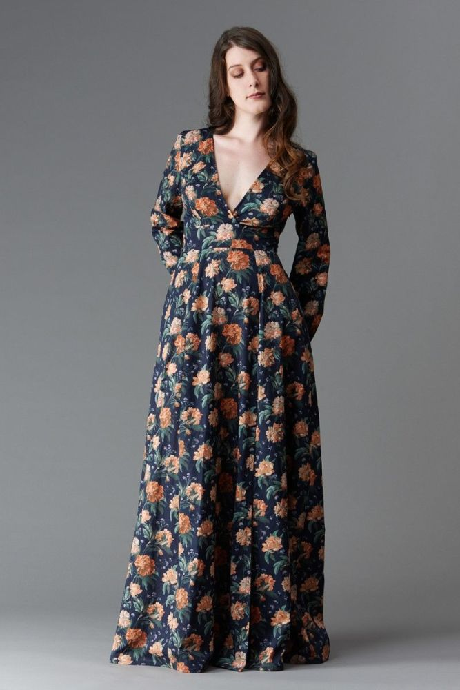 Deer and Doe Magnolia Dress Sewing Pattern