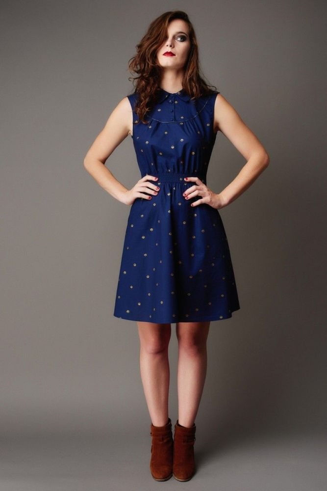 Deer and Doe Cardamome Dress Sewing Pattern