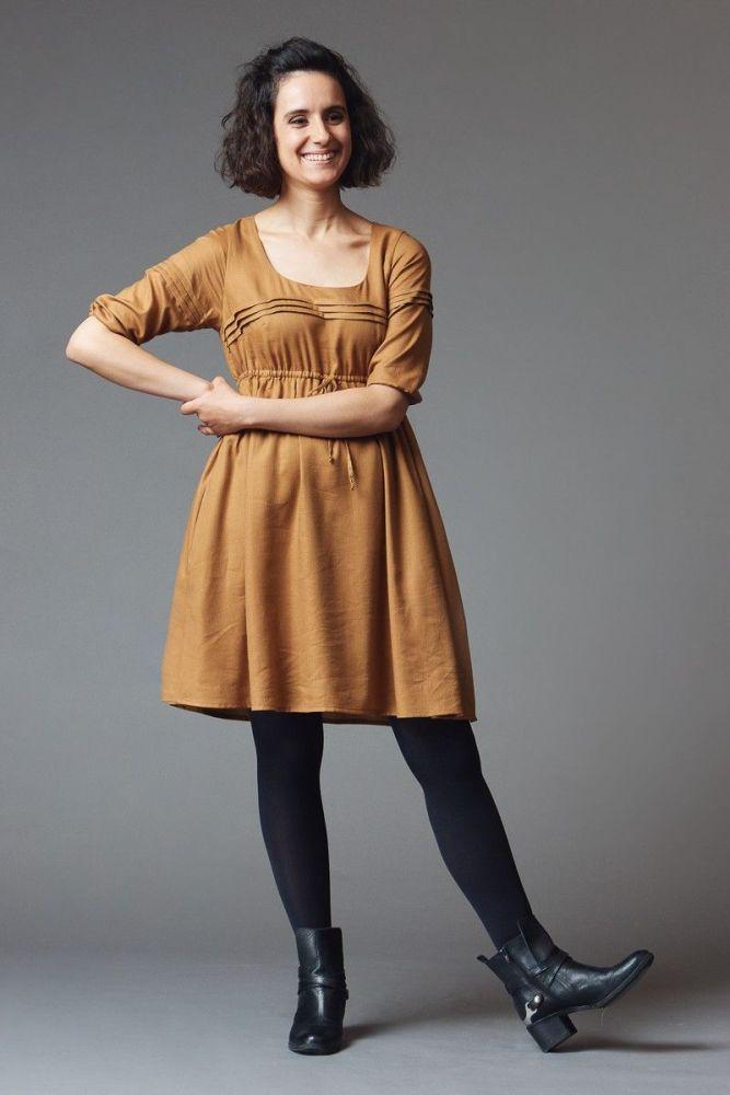 Deer and Doe Aubepine Dress Sewing Pattern