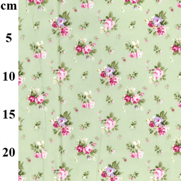 Cotton Poplin Fabric Meadow