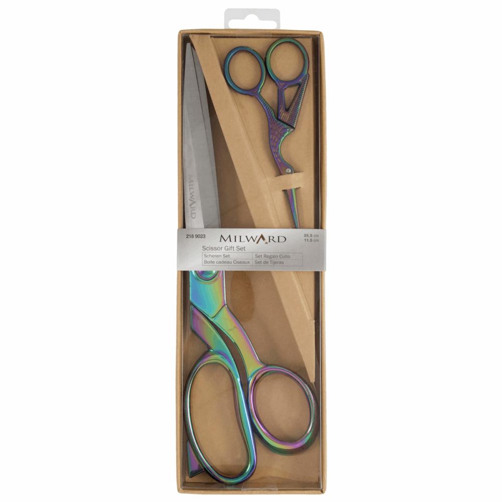 Milward Dressmaking Scissors Gift Set Rainbow 25.5cm