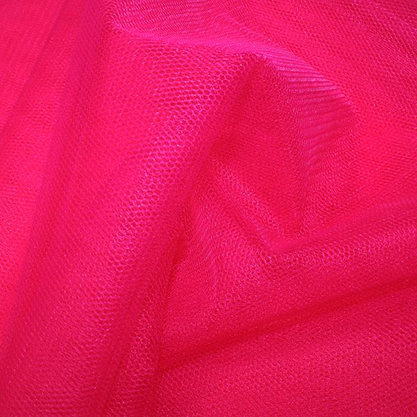 Nylon Dress Net Cherry
