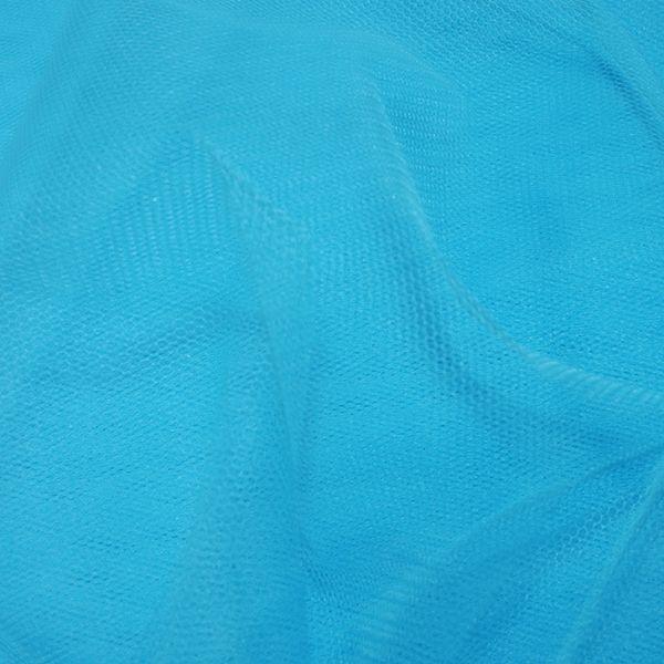 Nylon Dress Net Peacock