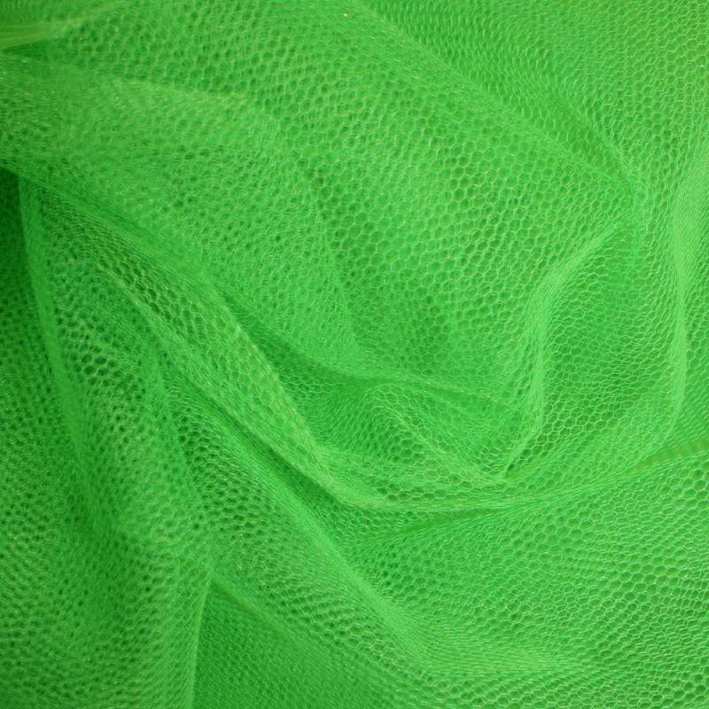 Nylon Dress Net Kelly Green