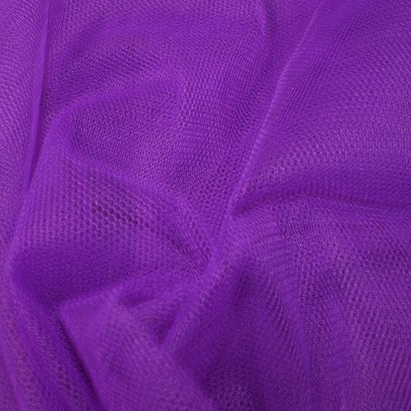 Nylon Dress Net Violet