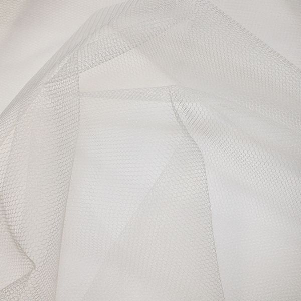 Nylon Dress Net Silk White