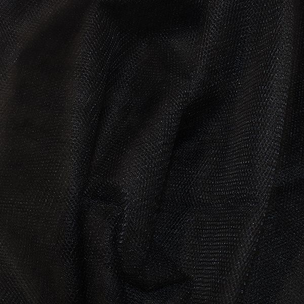 Nylon Dress Net Black